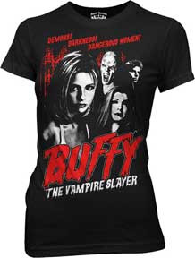 Buffy The Vampire Slayer Juniors Tee Shirt