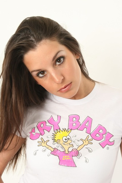 Cry Baby Candy Vintage Style Juniors Tee Shirt