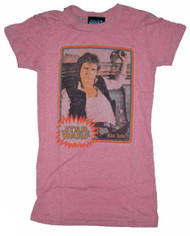 Junk Food Star Wars Hans Solo Tri-Blend Tee Shirt