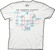 The Big Bang Theory Friendship Algorithm Mens Tee Shirt