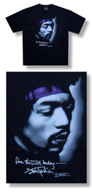 Jimi Hendrix Face the Truth Mens Tee Shirt