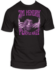 Jimi Hendrix Purple Haze Mens Tee Shirt
