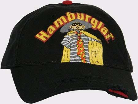 McDonalds The Hamburglar Adjustable Hat