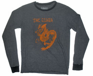 The Clash Gray Mens Thermal Shirt