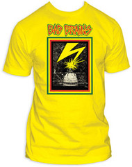 BAD BRAINS CAPITOL YELLOW MENS TEE SHIRT