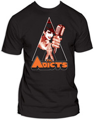 ADICTS CLOCKWORK MONKEY MENS TEE SHIRT