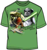 Star Wars Clone Wars Star Night Boys Tee Shirt