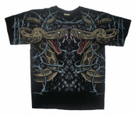 Barbed Wire Snakes Men T-Shirt