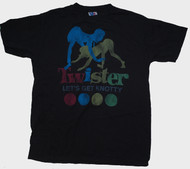 Mens Twister Let's Get Knotty Tee Shirt by Junk Food Clothing