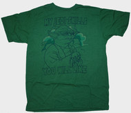 Junk Food Mens Star Wars Yoda My Jedi Skills Tee Shirt