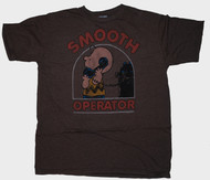 Mens Charlie Brown Smooth Operator Tee Shirt by Junk Food Clothing