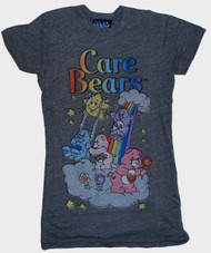 Care Bears Heather Gray Womens Tee Shirt by Junk Food Clothing
