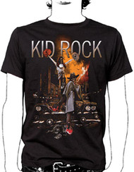 Kid Rock Ruins Mens Tee Shirt