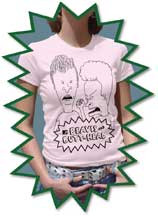 Beavis & Butt-Head Vintage Style Juniors Tee Shirt