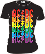 AC/DC Repeat Juniors Tee Shirt