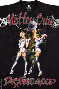 Motley Crue Dr. Feelgood Mens T-Shirt by Liquid Blue