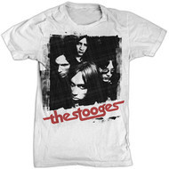 IGGY AND THE STOOGES GROUP SHOT MENS TEE SHIRT