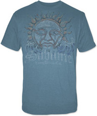 SUBLIME BLUE SUN MENS TEE SHIRT