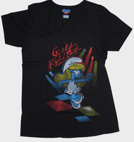 Smurfette Girls Night Out Womens Tee Shirt by Junk Food Clothing