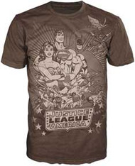 JUSTICE LEAGUE OF AMERICA MENS TEE SHIRT
