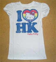 I Heart HK Hello Kitty Girls T-Shirt by Junk Food Clothing