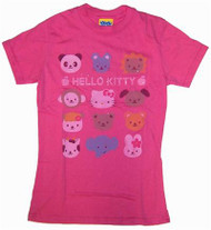 Hello Kitty Friends Tween T-Shirt by Junk Food Clothing