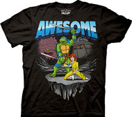 TEENAGE MUTANT NINJA TURTLES AWESOME MENS TEE SHIRT