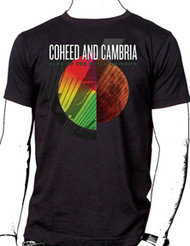 Coheed & Cambria Album Black Rainbow Mens Tee Shirt