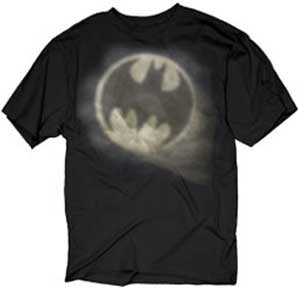 Batman Spotlight Mens Tee Shirt
