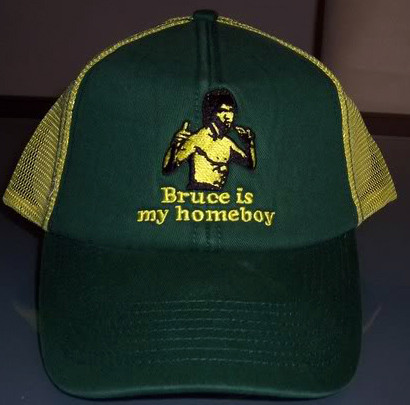 Bruce Lee Is My Homeboy Trucker Hat