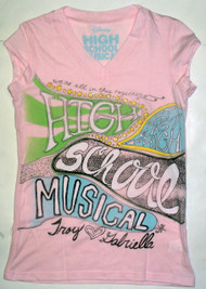High School Musical Girls Tee Shirt by Mighty Fine