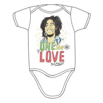 Bob Marley Love Infant Bodysuit