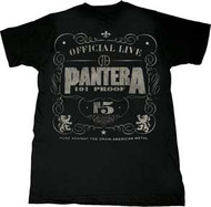 Pantera 101 Proof Mens Tee Shirt