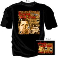 GANGSTERS LUCKY LUCIANO MENS TEE SHIRT