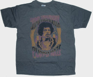 Junk Food Clothing Mens Jimi Hendrix Purple Haze Tee Shirt