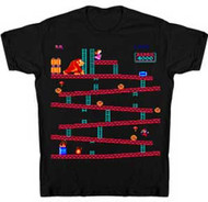DONKEY KONG LEVEL ONE YOUTH TEE SHIRT