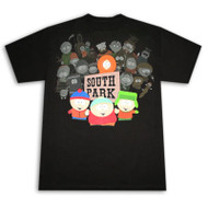South Park Cast Mens Tee Shirt