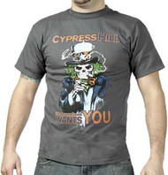 CYPRESS HILL UNCLE GREENTHUMB MENS TEE SHIRT