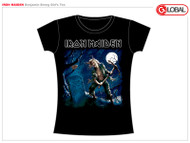 Iron Maiden Benjamin Breeg Juniors Tee Shirt