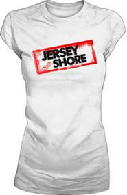 Jersey Shore Logo Juniors Tee Shirt