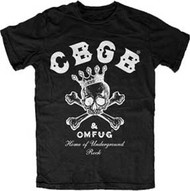 CBGB 124 MENS LIGHTWEIGHT ENZYME WASH TEE SHIRT