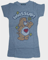Junk Food Care Bears Wassup Tri Blend Girly T-Shirt