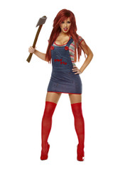 Sexy Chucky Childs Play Womens Costume