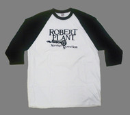 Robert Plant Mens Raglan T-Shirt