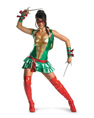 Sexy Teenage Mutant Ninja Turtles Womens Costume