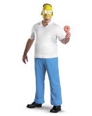 Homer Simpson Mens Costume