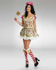 Sexy Deluxe Candyland Womens Costume