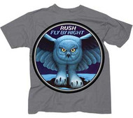 Rush Fly By Night Mens Tee Shirt