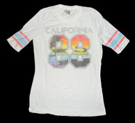 California 88 Womens Vintage Style Tee Shirt by Public Library