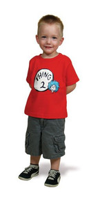 Dr Seuss Thing 2 Kids Tee Shirt